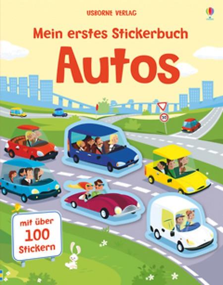 Mein erstes Stickerbuch Autos