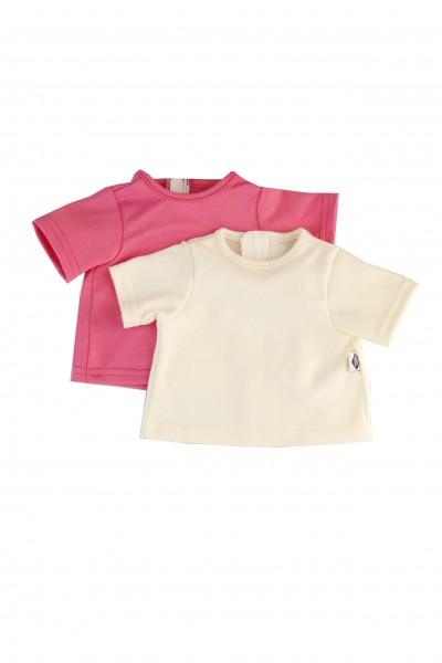 2 T-Shirts Gr. 37 cm