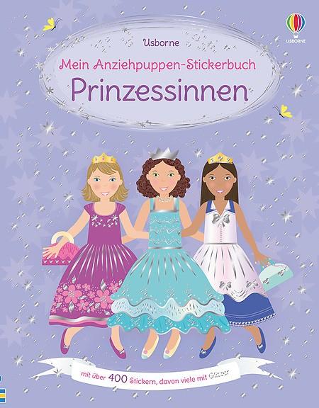 Mein Anziehpuppen-Stickerbuch Prinzessinen