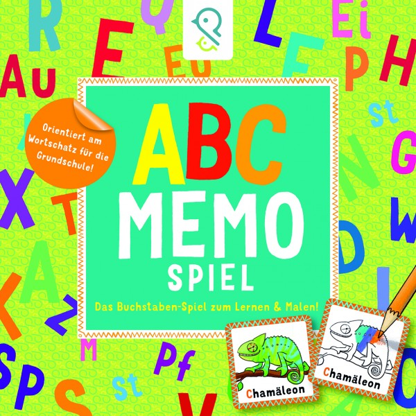 ABC -Memo -Spiel