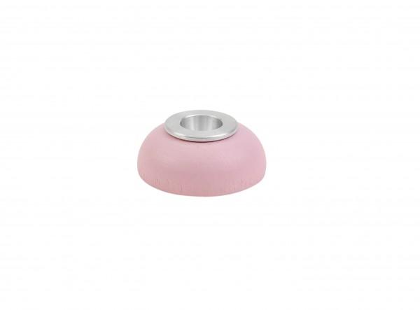 Kerzenhalter Alu-Einsatz rosa