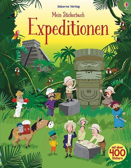 Mein Stickerbuch Expeditionen