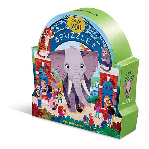 Puzzle Tag im Zoo