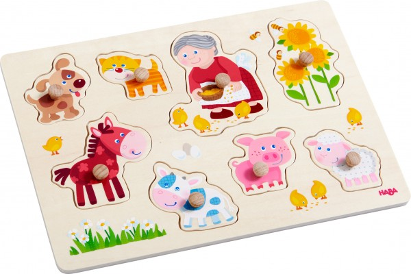 Greifpuzzle Oma Lenis Tiere