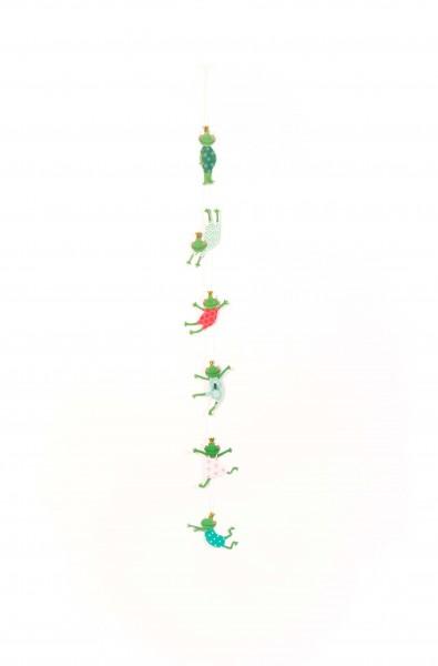 Tier Girlande – Froschkönig